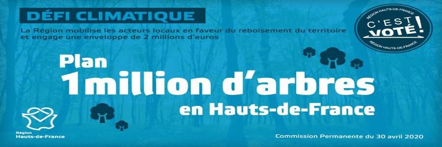 « Un million d'arbres en Hauts-de-France » : tous mobilisés !